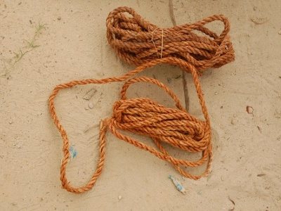 old and new fibre ropes