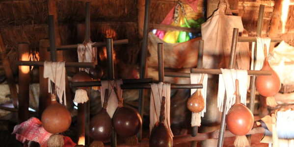 Sacred objects are stored inside the Oga Pysy (Photo: Fabiana Fernandes)