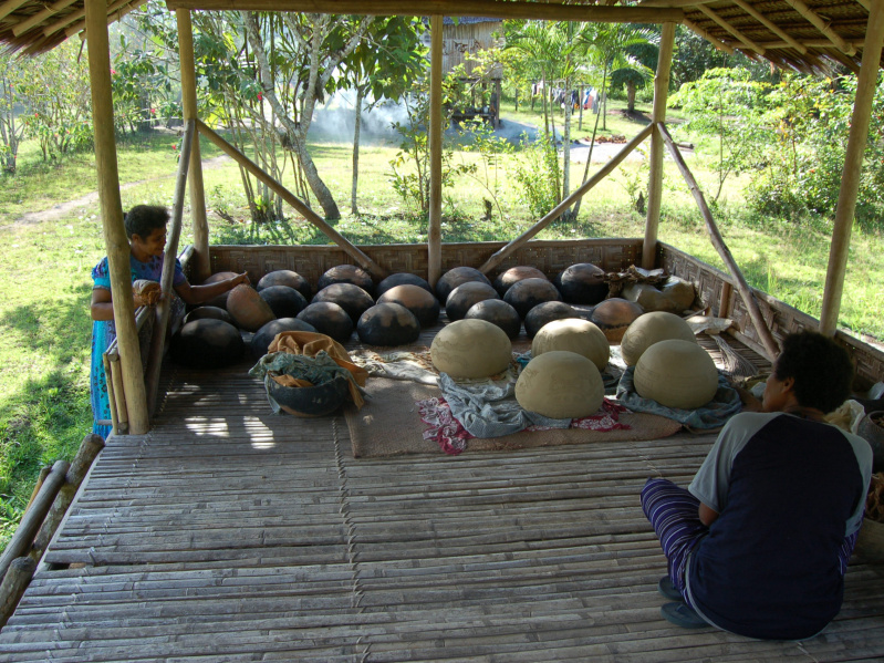 The pot house at Koreaf village (Photo: Elizabeth Bonshek, 2007)